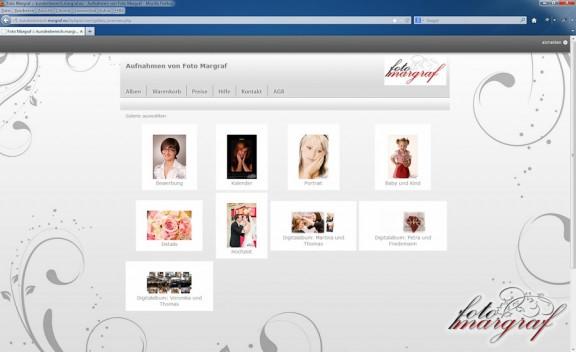 Kundenbereich von Foto Margraf